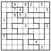 start Irregular Sudoku image