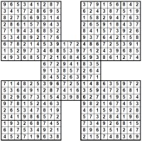 solution Samurai Sudoku image