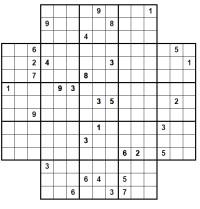 start Star Sudoku image