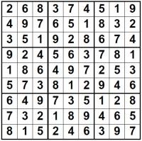 solution Sudoku image