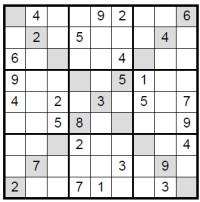 start Sudoku X image