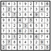 solution Sudoku X image