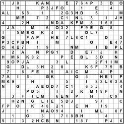 photo regarding 16 Square Sudoku Printable titled Major and Huge Sudoku Puzzles