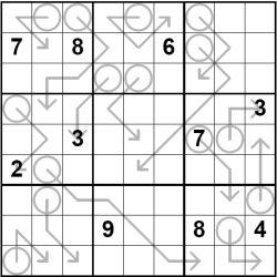 Arrow Sudoku Puzzles