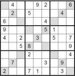 Sudoku with two extra regions: the main diagonals