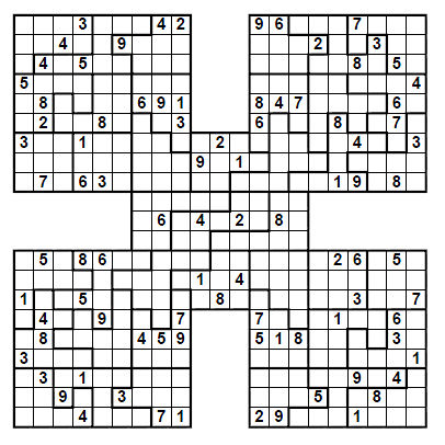image relating to Jigsaw Sudoku Printable named Obtain Jigsaw Sudoku Puzzles License