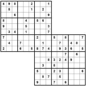Tactueux image regarding samurai sudoku printable